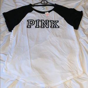 PINK Victoria's Secret Short Sleeve Crew Tee